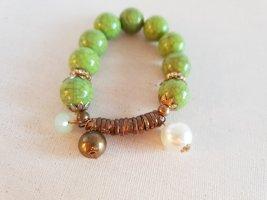 Grün Stein Armband Perlen Schmuck