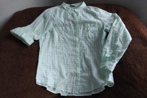 Grün/weiss Karo Hemd