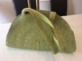 Grüne Bast-Tasche