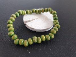 Pearl Bracelet meadow green-grass green
