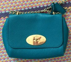 Grüne Original Mulberry Bag mit Goldkette