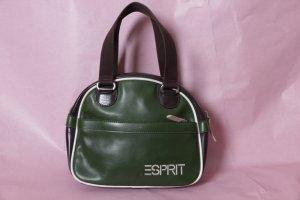 Grüne Tasche von Esprit im 70s Look #Esprit