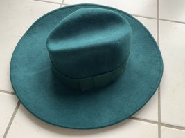 Trilby forest green mixture fibre