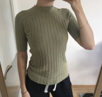 Edited Knitted Top green grey-khaki
