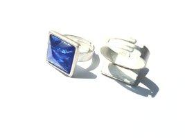 Gubo Ring - Blau Schimmer - Sommer Pur - Neu