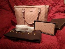 Gucci 449655 Micro Guccisima Tasche mit passende Geldbörse