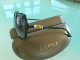 Gucci Bamboo Sonnenbrille 3131 S schwarz. Rarität.