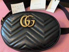 Gucci Buiktas zwart-goud