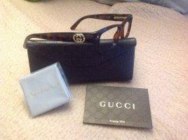Gucci Bril zwart bruin