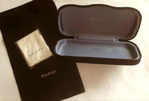 Gucci Brillenetui Set Echtgold Prägung Neu Geschenkidee Brillen Etui Satin Tasche