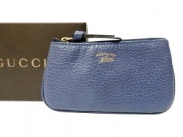Gucci Wallet blue leather