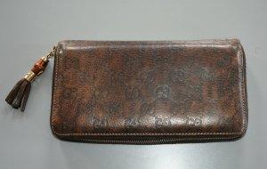 Gucci Continental Guccisima Geldbörse Zip arround wallet Bamboo Tassel