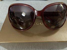Gucci Gafas rojo oscuro-marrón