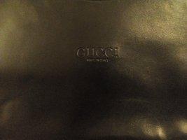 Gucci Damenhandtasche Leder Schwarz Made in Italy