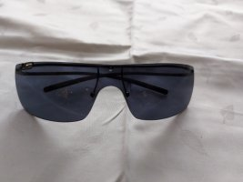 Gucci Angular Shaped Sunglasses blue-silver-colored