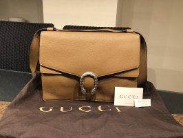 Gucci Dionysus Leather Bag Braun