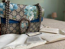 Gucci Dionysus Mini Blooom Supreme Canvas GG Blue Floral Shoulde