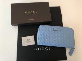 Gucci Portemonnee lichtblauw