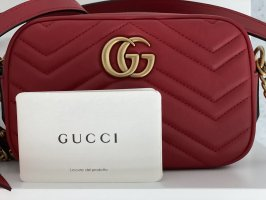 ☆GUCCI☆ GG Marmont  Mini Bag rot NEU
