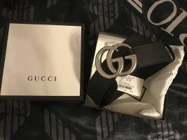 Gucci Canvas Belt black