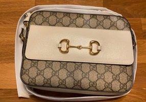 Gucci GG Supreme Horsebit 1955 Crossbody Bag