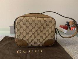 Gucci Gekruiste tas beige Gemengd weefsel