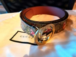 Gucci Ceinture en cuir rose cuir