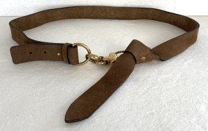 Gucci, Gürtel, Leder (Nubuk), Braun, 95 cm / W 38, € 650,-