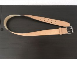 Gucci Leather Belt dusky pink leather