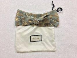 Gucci, Haarband, mintgrün-gold, Viskose/Silk, neu, € 590,-