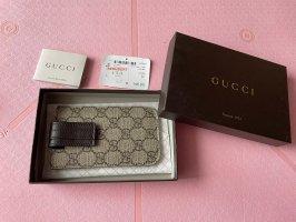 Gucci Hoesje voor mobiele telefoons donkerbruin-grijs-bruin