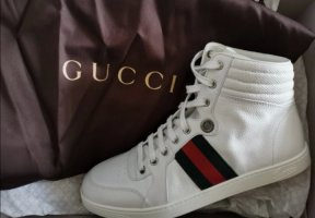 Gucci High-Top-Sneakers unisex weiß