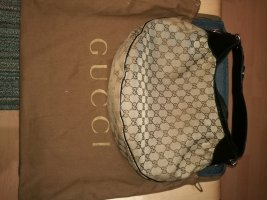 Gucci Handtas zwart-cognac