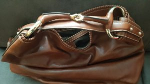 Gucci Hobos cognac-coloured leather