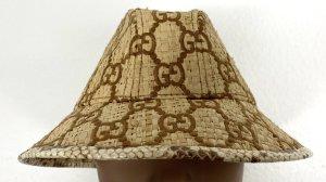 Gucci Cappello di paglia sabbia Lino