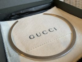 Gucci Klassischer Halsband Kette Silber