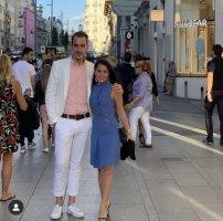 Gucci A-lijn jurk azuur