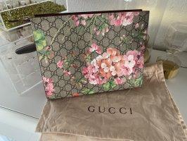Gucci Kosmetiketui GG Blooms Canvas Kulturbeutel Clutch Abendtasche