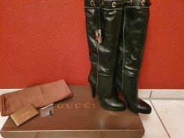 Gucci Laarzen met hak zwart