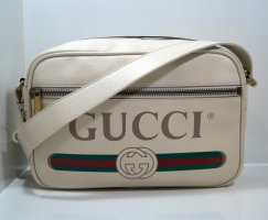 Gucci Logo Leather Crossbody Bag