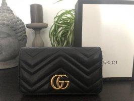 Gucci Marmont / Handtasche / schwarz
