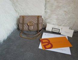 Gucci Marmont Mini Flap Bag Porcelain Rose Mauve