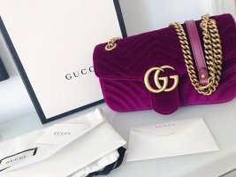 Gucci Marmont rubinrot Full Set