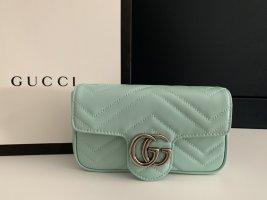 Gucci Marmont super mini pastel mint
