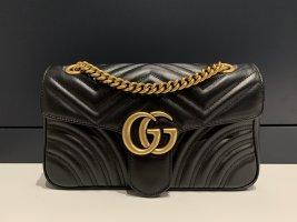 Gucci Marmont Tasche schwarz klein