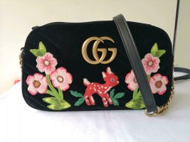 GUCCI MARMONT VELVET BAMBI EDITION CROSSBODY - SHOULDER BAG NEW