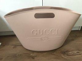 Gucci oversize rubber logo bag