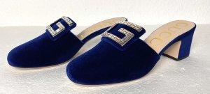 Gucci Zomerschoenen met hak blauw