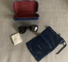Gucci Aviator Glasses black-grey