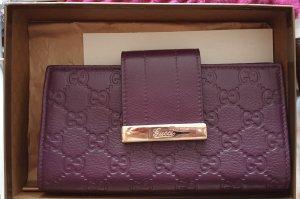 Gucci Portefeuille violet
